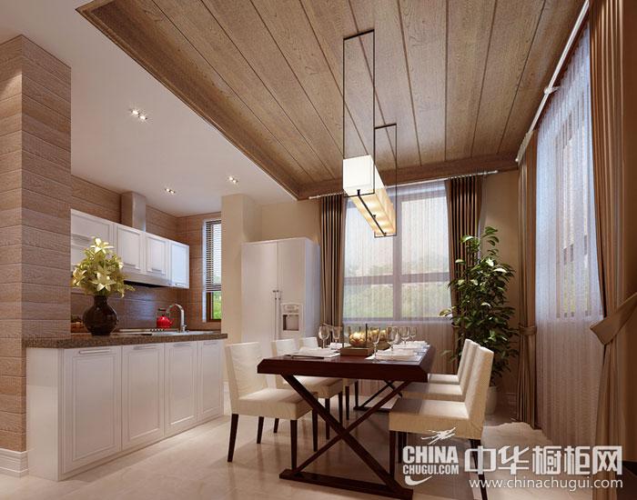 现代简约橱柜图片 打造完美餐厨空间