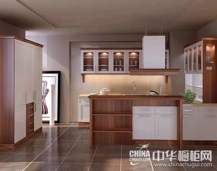 现代简约整体橱柜图片厨房里的自然风景