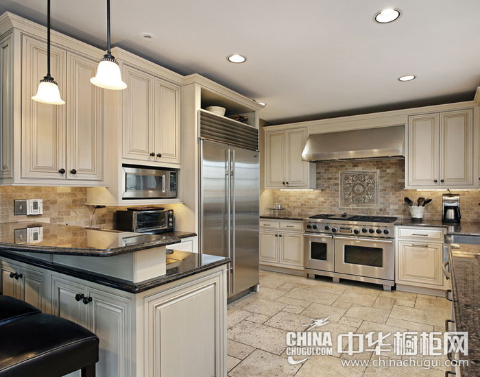 彰显欧式优雅风情  欧式整体厨房装修图