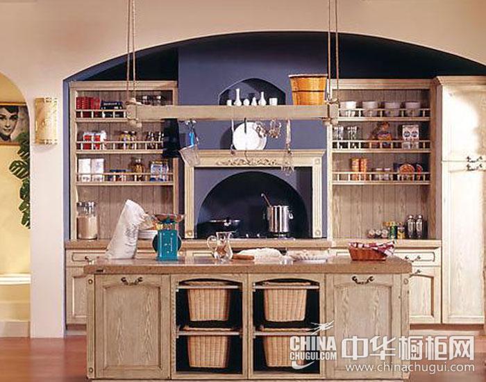 欧式橱柜效果图片 无限风景藏厨房