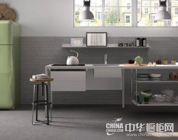 现代简约橱柜效果图 细节搭配体现完美厨房