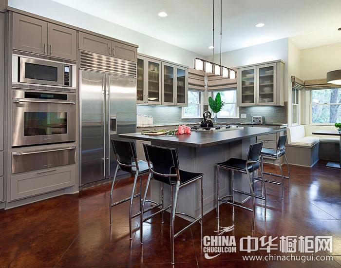 最动人的厨房规划  欧式整体厨房装修图