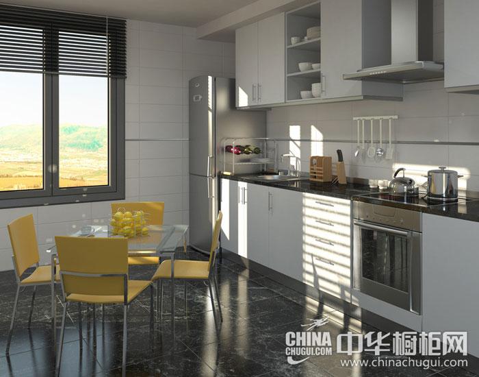 别致生动的餐厨空间 现代简约出效果图片