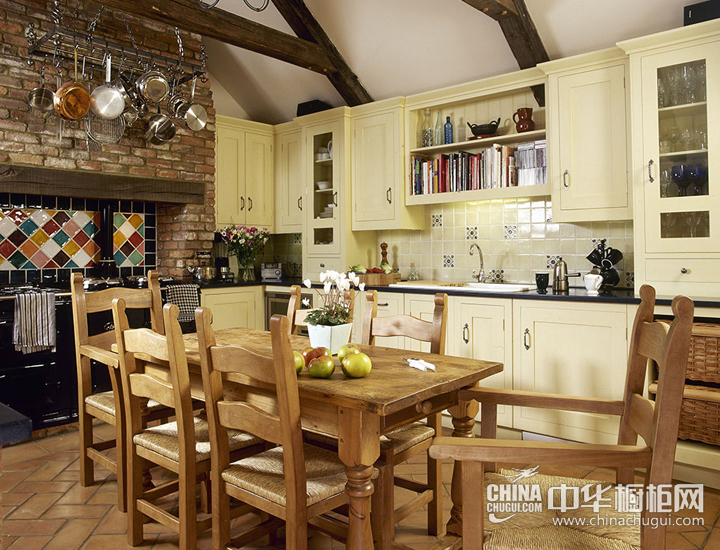 享受美好滋味生活 美式厨房装修效果图