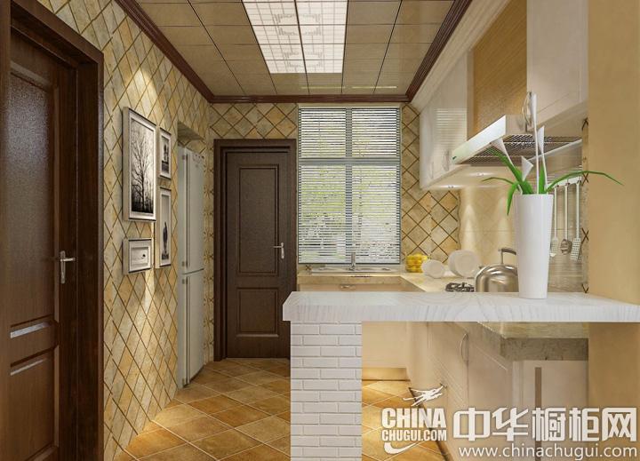 小户型厨房设计效果图 4㎡即可搞定