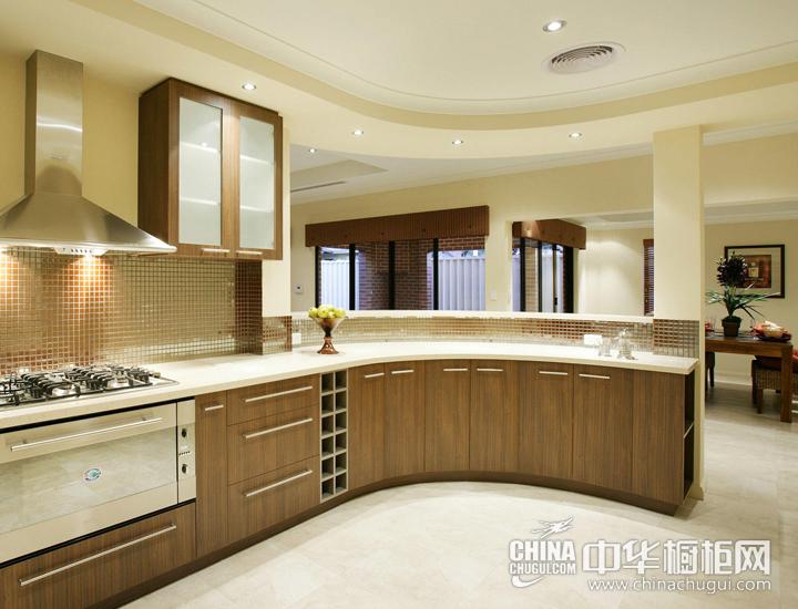 家的温暖从厨房开始 现代简约橱柜图片