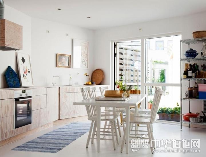 温润木色美食空间 厨房装修效果图