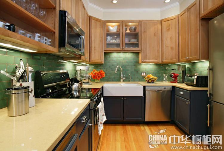 自由风情整体橱柜图片 给沉闷厨房来点舞动元素