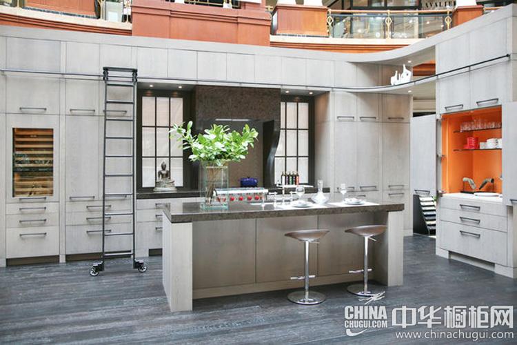 开放式厨房装修效果图 在繁忙生活中寻求宁静