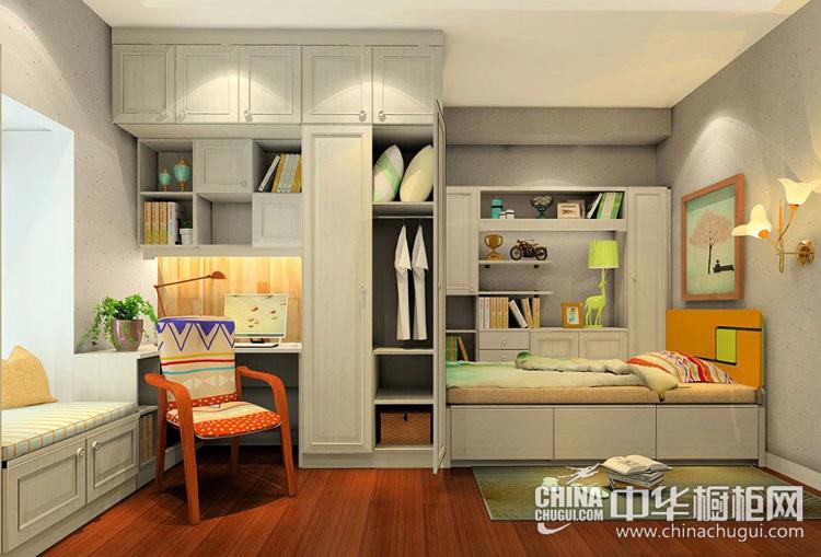 现代风格整体衣柜图片 明亮温馨的居室环境