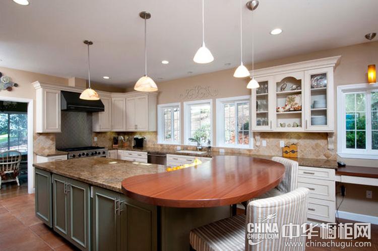 欧式整体橱柜图片 简约但有特色的厨房设计