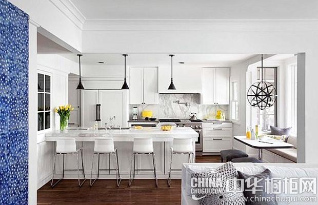 北歐風格廚房裝修效果圖 將明亮光線直接引入廚房