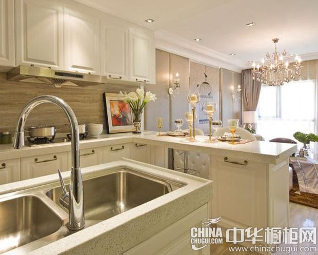 简欧风格橱柜图片 让厨房也成为可观赏的空间