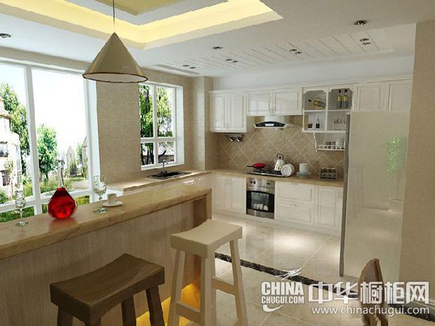 小资厨房装修效果图 营造高雅奢华空间