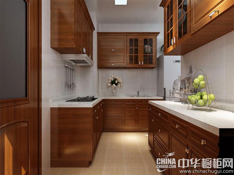 中式整体橱柜图片 50后最爱的厨房装修样式
