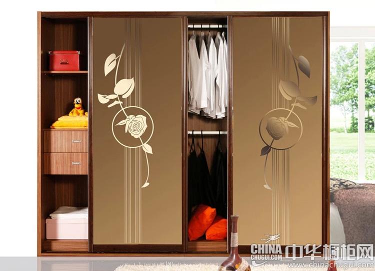 现代风格整体衣柜图片 外形美观大方色彩古朴靓丽