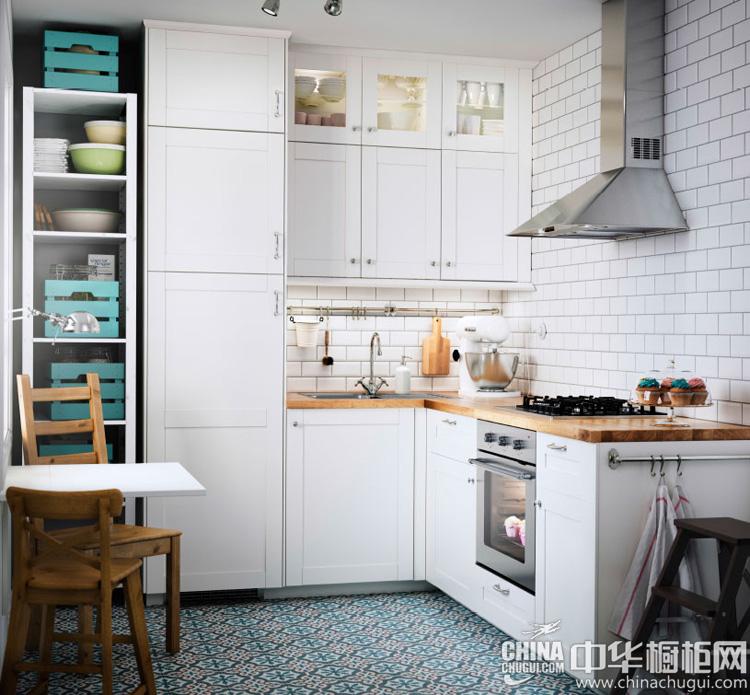 小户型厨房装修效果图 白色橱柜成为设计主流