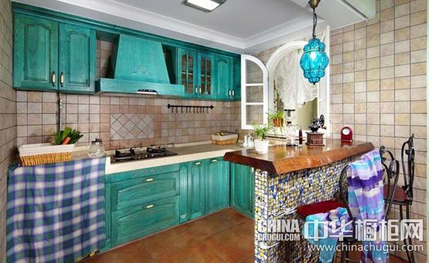 东南亚风情整体橱柜图片 尽显多元化厨房风格