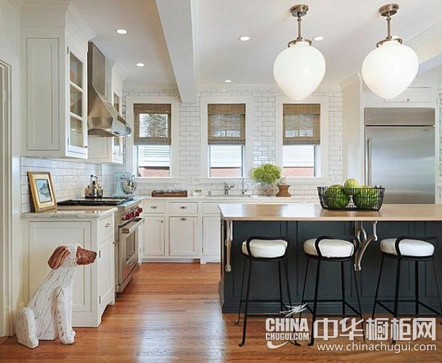 欧式风格橱柜图片 展现古典韵味厨房