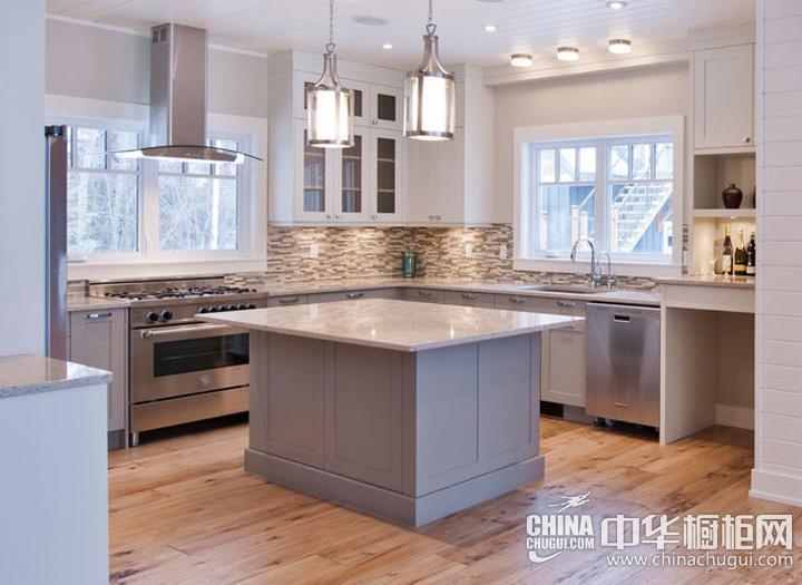 简约风格厨房装修效果图大全2016图片