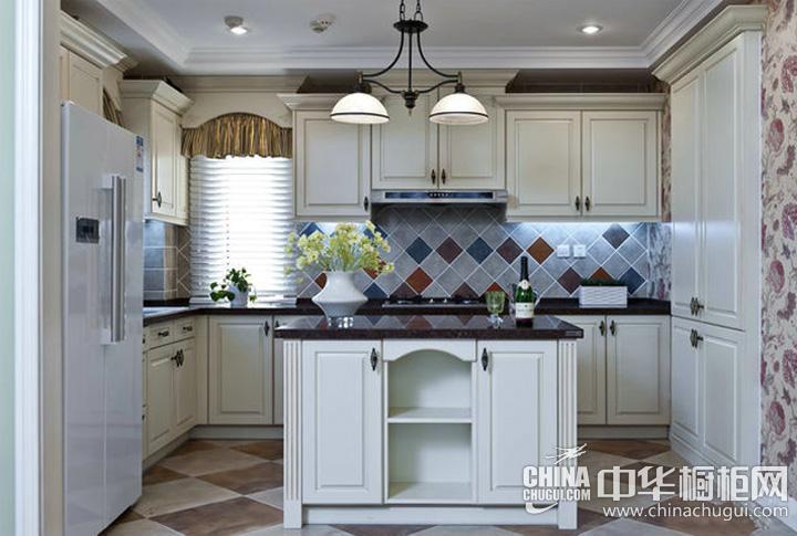 欧式厨房装修效果图 厨房橱柜图片