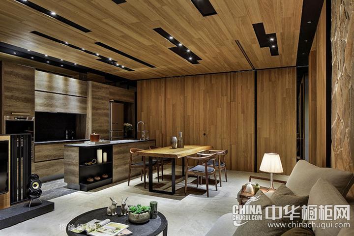东南亚风格厨房装修效果图 东南亚风情橱柜图片