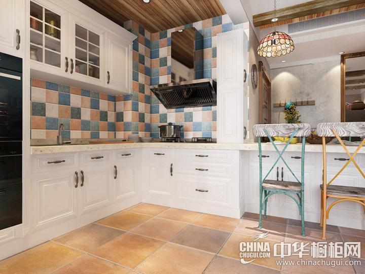 欧式厨房装修效果图 厨房装修图片
