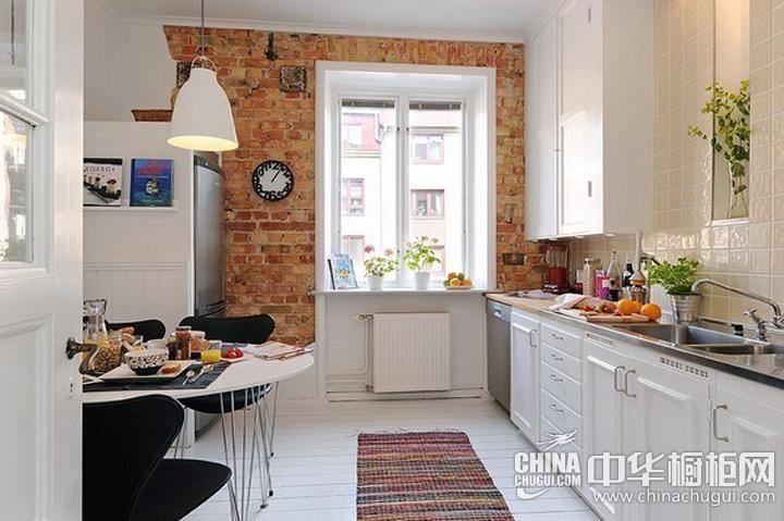 小厨房装修效果图 白色橱柜图片
