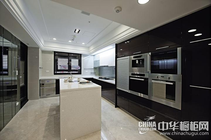 整体厨房效果图 简约风格橱柜图片
