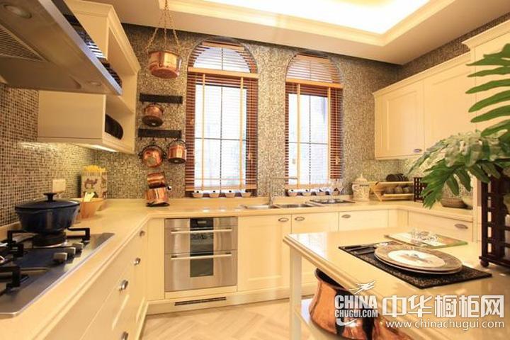 开放式厨房装修效果图 整体橱柜图片