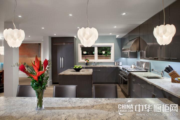 厨房装修效果图大全2012图片 实木橱柜图片