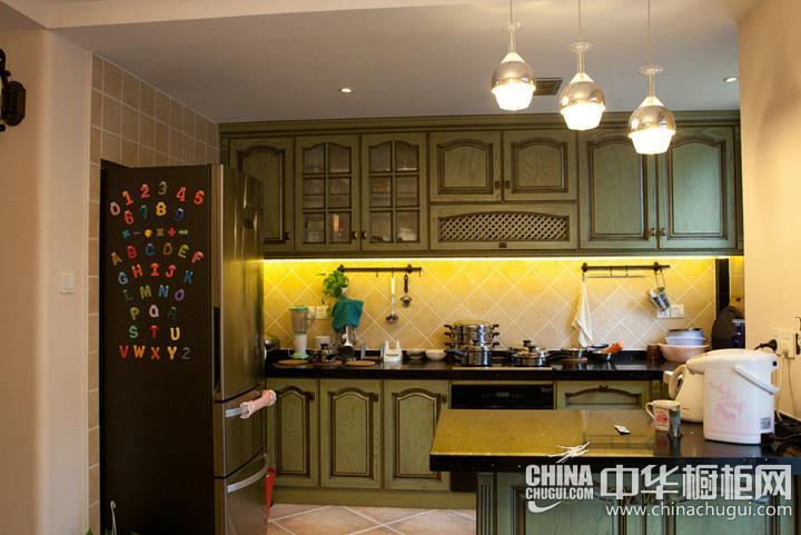 家庭厨房设计效果图 整体厨房图片