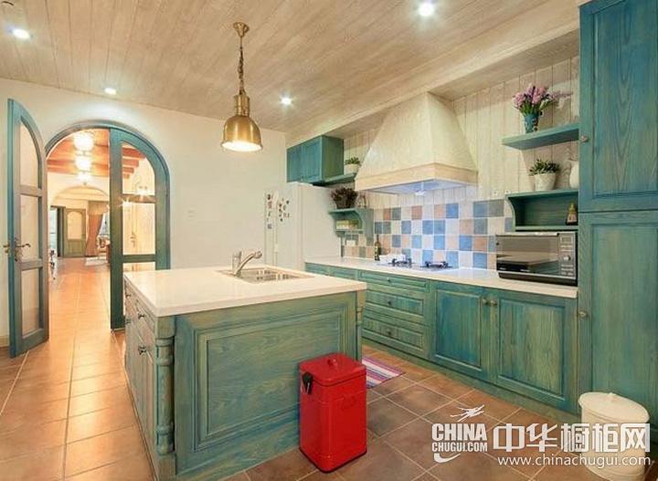 厨房吧台装修效果图 厨房设计图片