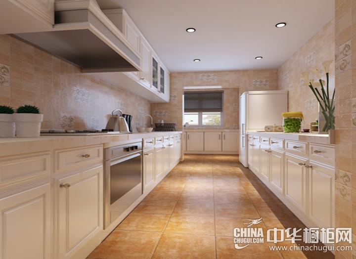 厨房整体橱柜效果图 小户型厨房装修图片