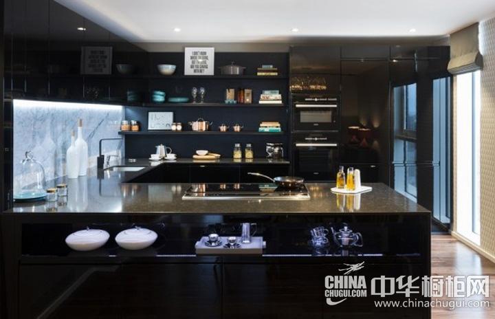 整体橱柜效果图 简约风格厨房图片
