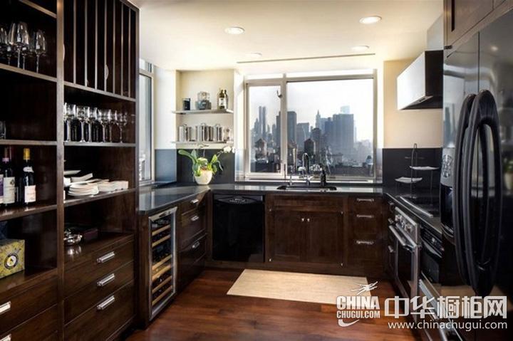 厨房整体橱柜效果图 古典风格橱柜图片