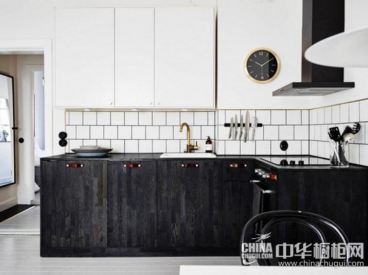 厨房装修效果图欣赏 L型橱柜设计图