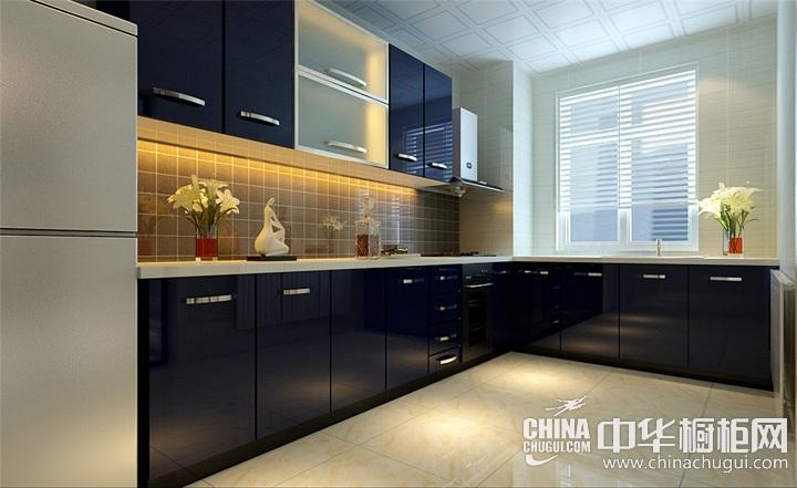 厨房整体橱柜效果图 简约风格橱柜图片