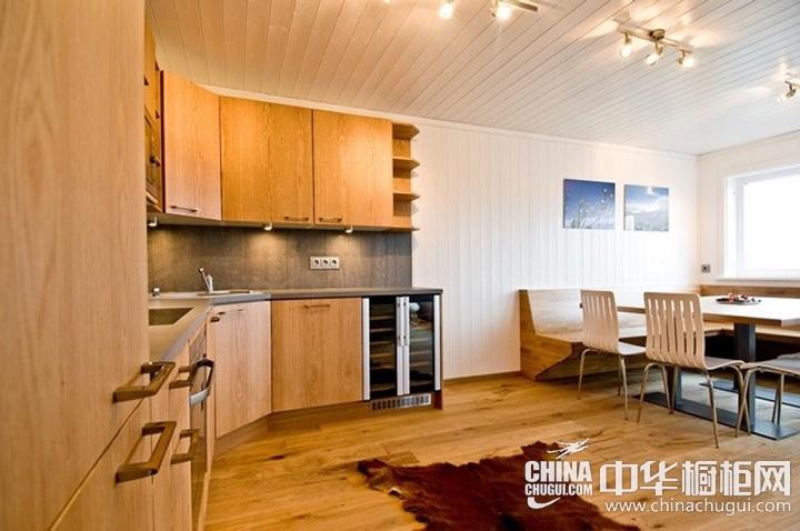 开放式厨房装修效果图 厨房装潢效果图