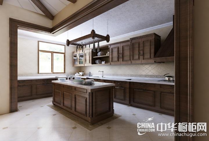 厨房间装修效果图 古典风格厨房装修图片