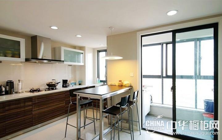 阳台厨房装修效果图 厨房装修图片