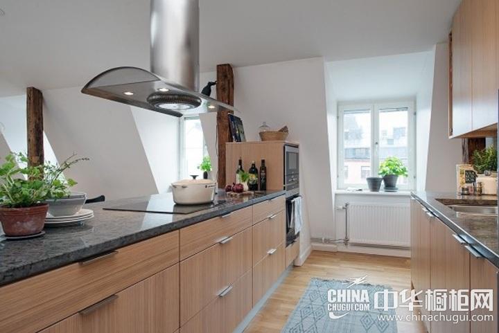 厨房装修效果图 简约风格橱柜图片