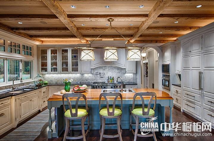 厨房整体橱柜效果图 厨房装修图片