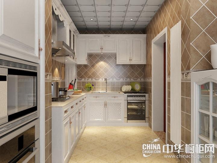 小户型厨房装修效果图 欧式橱柜图片