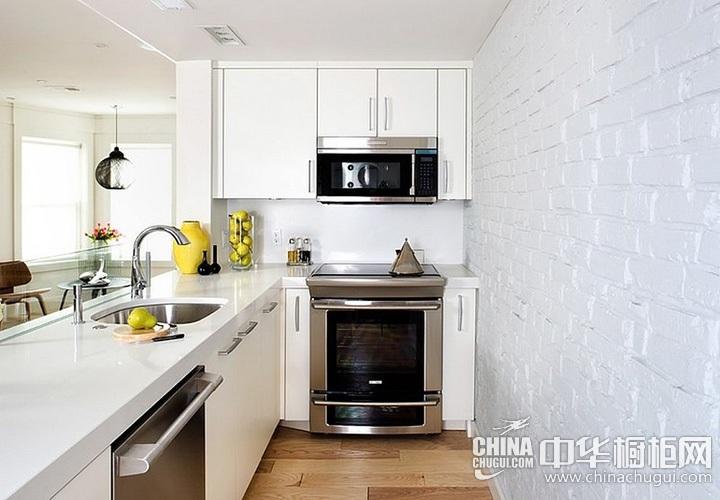 简约风格厨房图片 开放式厨房设计图片