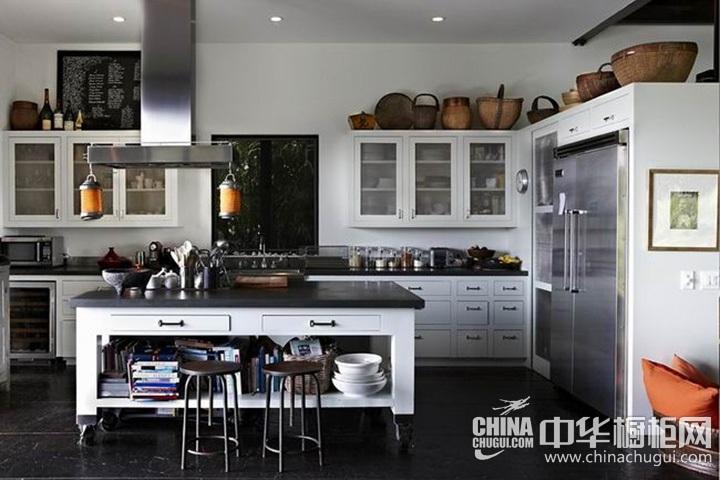 欧式厨房装修效果图 欧式橱柜图片