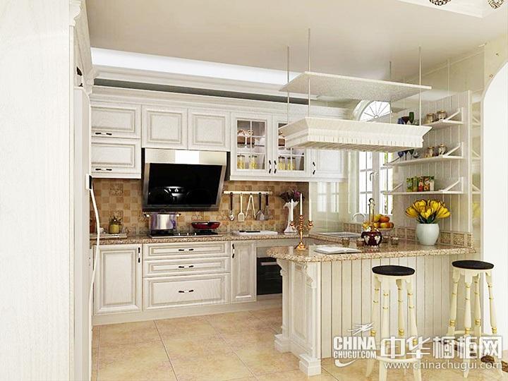 欧式厨房装修效果图 欧式橱柜设计图