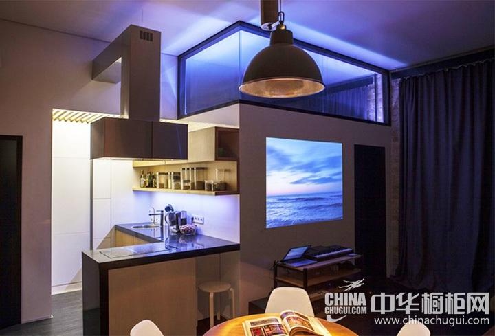 小户型厨房装修效果图 橱柜图片