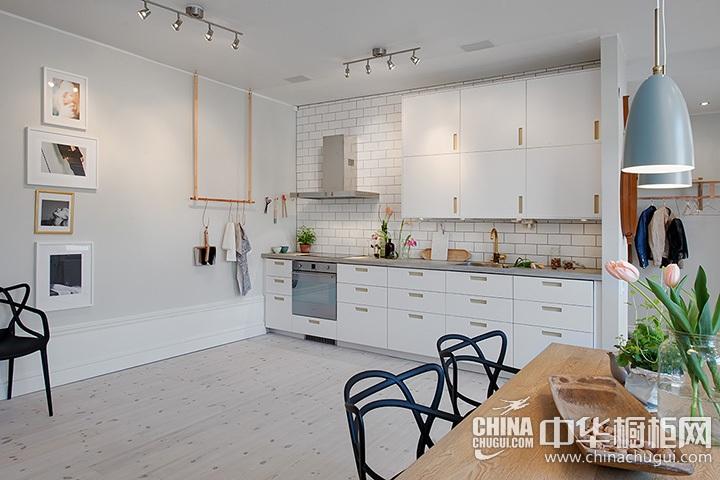 北欧风格厨房装修效果图 北欧风格橱柜图片