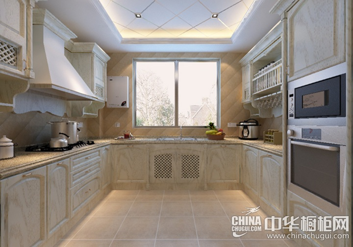 橱柜装修效果图 厨房橱柜图片